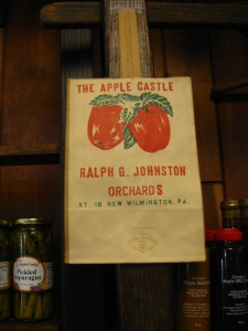 Original Apple Castle shopping bag