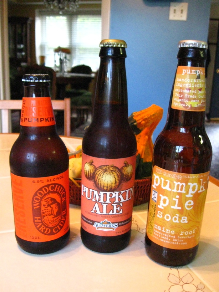 Pumpkin cider, pumpkin ale and - for you teetotalers out there - a pumpkin pie soda. These are just a few of the pumpkin-themed beverages available in America this time of year, and it just wouldn't feel like autumn without them.