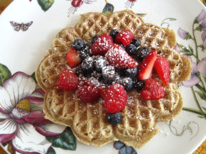 My dad makes a mean waffle