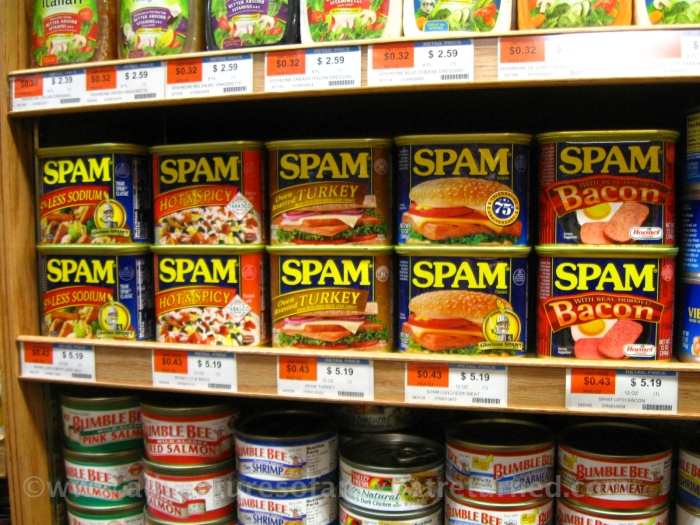 Can man live on Spam alone?